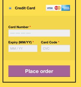 postfinance directlink credit card form